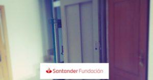 obra ascensor fundación santander