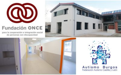 Fundación Once apoya instalaciones del proyecto intervención temprana en TEA