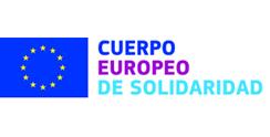 Logotipo Cuerpo Europeo Solidaridad
