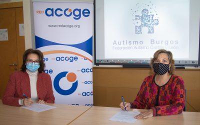 Autismo Burgos y Voltéate se suman al proyecto Red+D