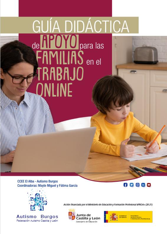 Guia Didactica de apoyo a las familias para el trabajo online