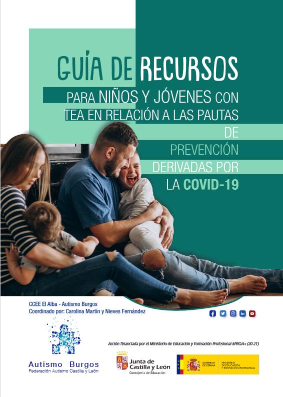 Guía para infacia y juventud con TEA para la prevención de la COVID 19